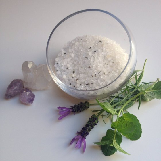 Lavender Moon Bath Salts